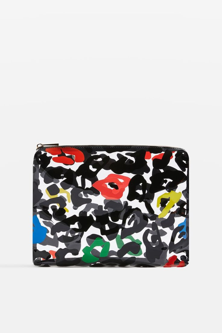 MARCUS Leopard Print Wash Bag - Bags & Accessories- Topshop Europe