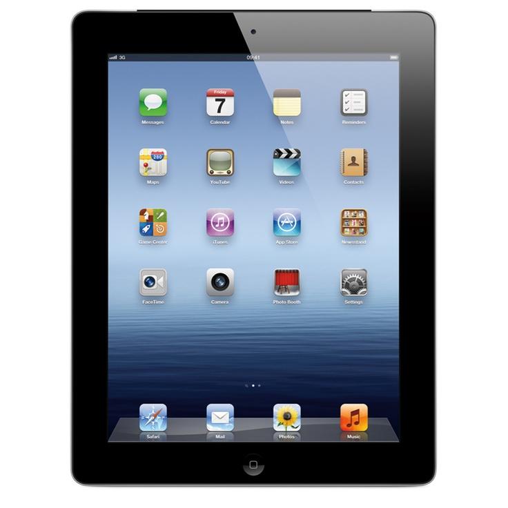 Novo iPad - Wi-Fi 16GB - MC705BZ/A - Preto - Apple
