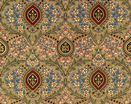 William Morris wallpaper from the 1800s