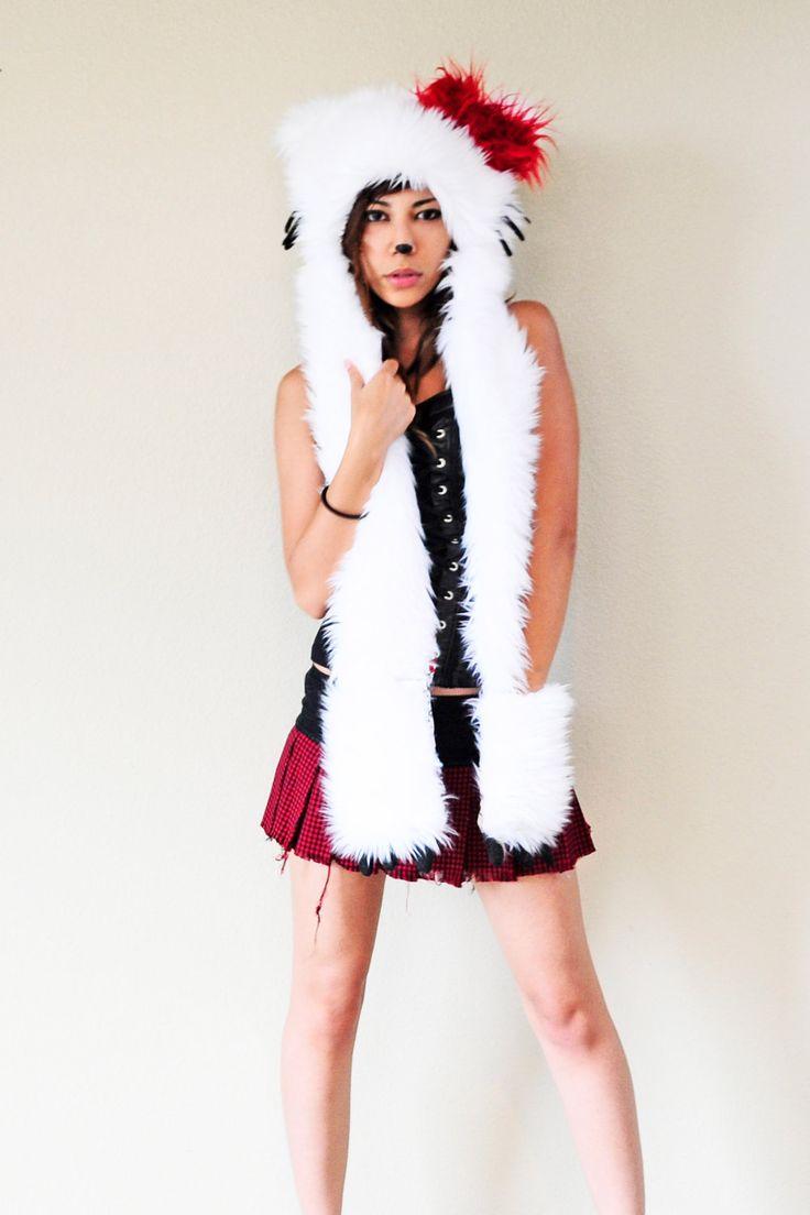 Hello Kitty Scoodie #hellokitty #kawaii #scoodie #scarf #kawaii #japan #merchandise