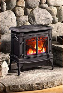 Gas stoves: Reliable, easy to use, beautiful, and no chopping wood or feeding the fire. Rich's has the Northwest's largest selection!