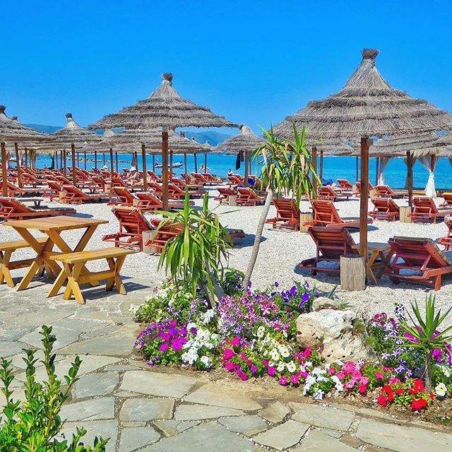 Bojo Resort - Vlore, Albania  Spent a day at this beautiful beach which…