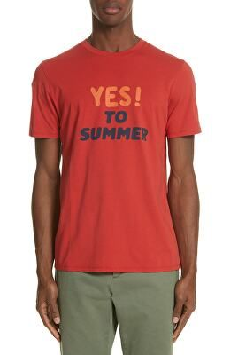 c3509c667 A.P.C. Designer Yes! To Summer Graphic T-Shirt | Avivey (Style Lives ...