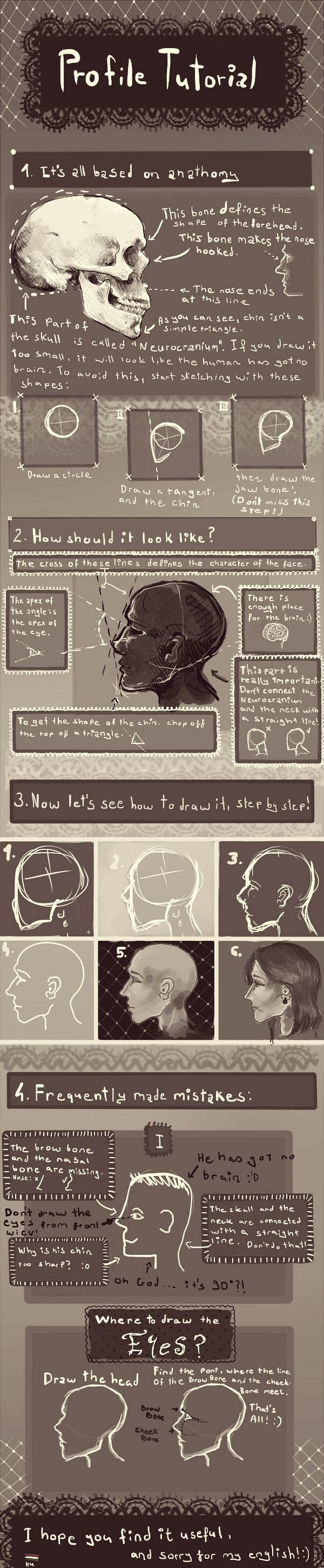 best ideas about profile drawing how to draw profile tutorial by on 9733 character design references love character design join the linkrarr share your unique vision of a theme