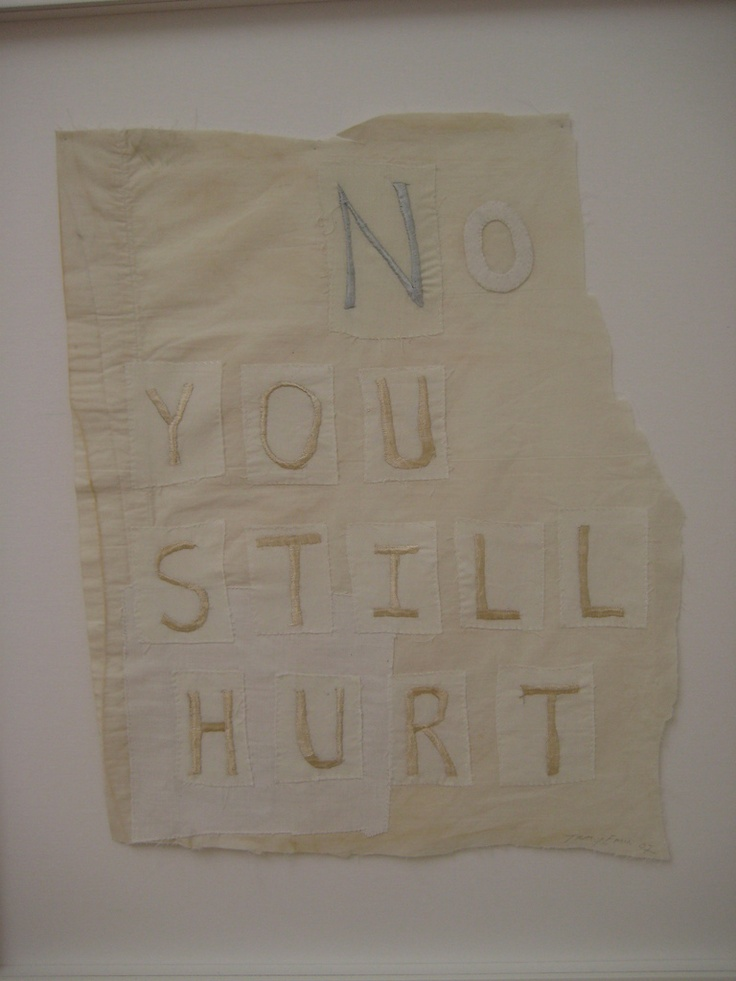 tracey emin #enoughsaid