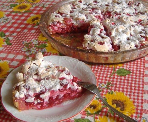 Jemný ríbezľový koláč