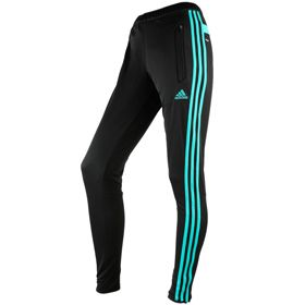 Adidas Tiro 13 Women's Training Pants - Black/Vivid Mint | S13186