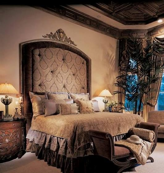 1000 images about luxury bedrooms on pinterest luxury for Castle bedroom ideas