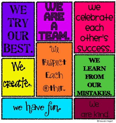 22 best classroom expectations images on Pinterest Classroom decor