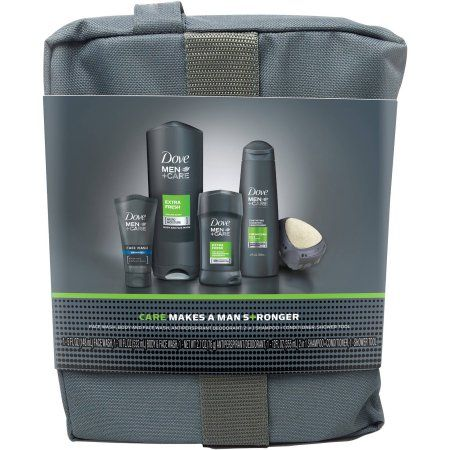 Dove Men+Care Extra Fresh Gift Bag, 5 pc