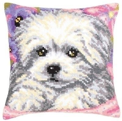 Little Doggy Cushion Front Chunky Cross Stitch Kit