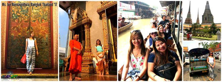 Ms. Ive Buenaventura, Bangkok Tour 2017  #bangkok #thailand #wheninBANGKOK #wheninTHAILAND #asia #travel #travbest #travelovers #travbestadventures #tourism #packages #tours #vacation #holidays #traveling #adventures #trip #travelgoals #tourist #beauty #amazing #traveldiaries #beautifuldestinations #summer2017 #explore #escapade #wheninBKK #asianpackages #wanderlust #asiantour2017  #asiantour