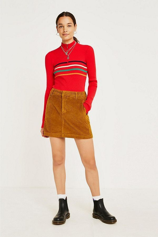6ac702c27 BDG Corduroy Mini Skirt | New Arrivals | Mini skirts, Corduroy, Skirts