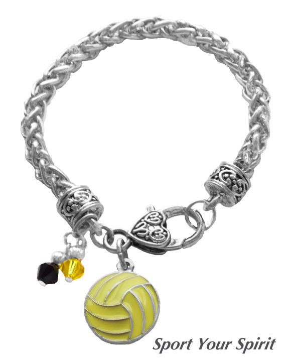 Personalized Swarovski Team Color Water Polo by SportYourSpirit, $15.00