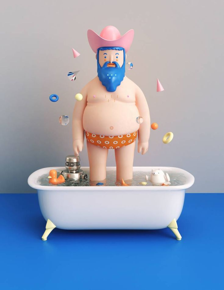 Colorful 3D Illustrations – Fubiz Media