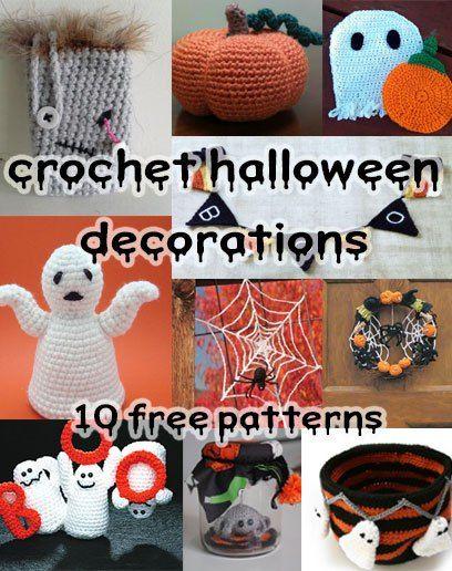 Crochet-Halloween-Decorations