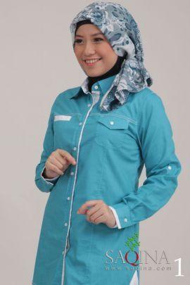 Blue Blouse. Rp. 119.900