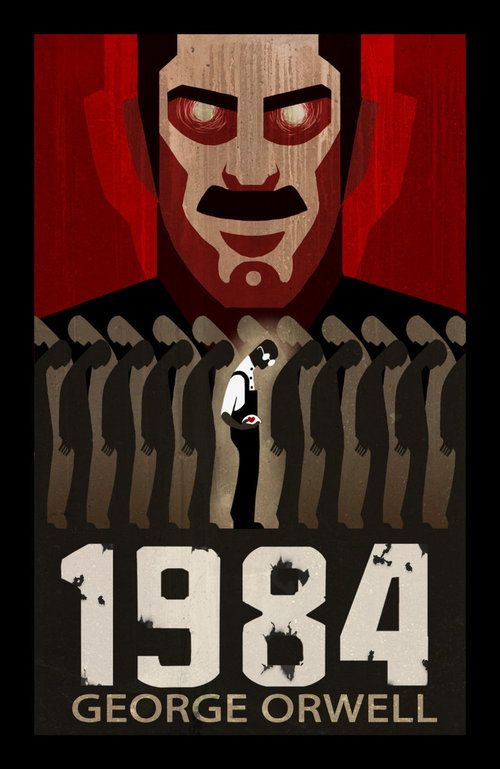 """War is piece, freedom is slavery, ignorance is strength""  #Big_brother is watching you   #1984 #Orwell #best_books_ever"
