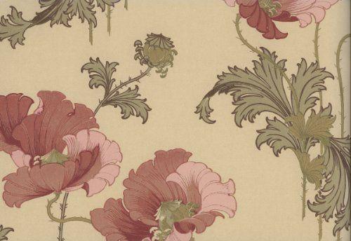 Boras Karlslund 2934 Anno 1880 - Papel pintado, (estilo Art Nouveau, color rojo y beige) BorasTapeter http://www.amazon.es/dp/B007WAXJEA/ref=cm_sw_r_pi_dp_Nq23tb0RP504NA5R