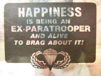 I have my grandpa's paratrooper wings tattooed and it's my greatest honour to be his granddaughter <3