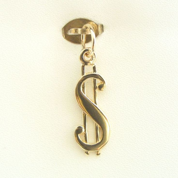 Buy our Australian made Dollar Sign Charm - chr-1650 online. Explore our range of custom made chain jewellery, rings, pendants, earrings and charms.