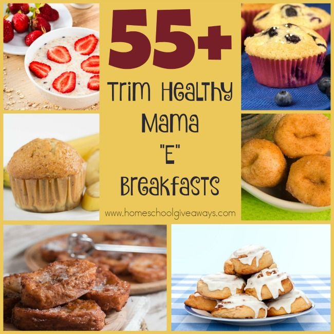 """If you're following the THM Lifestyle, check out these DELICIOUS """"E"""" Breakfasts. :: www.homeschoolgiveaways.com"""