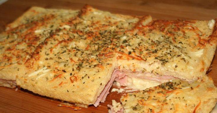 Cómo preparar un pastel de jamón y queso