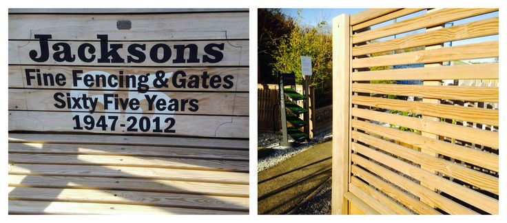 The jackson 39 s fencing venetian range will add a for Living wall fence panels
