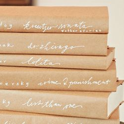 A roundup of diy book covers! #craftgawker