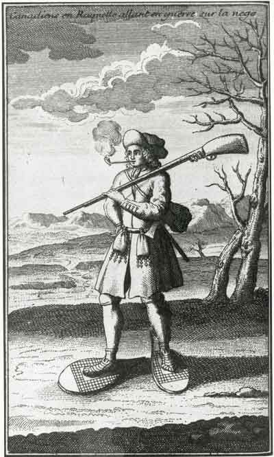 Militia man in French and Indian War New France - Bing Images