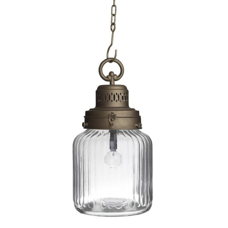 Decorative Ceiling Lantern With Led - inart