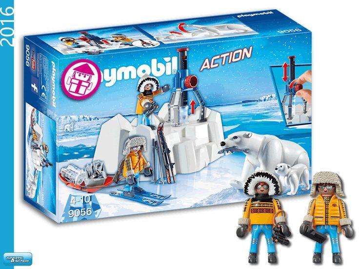 PLAYMOBIL 9056 Polar Ranger with Polar Bears