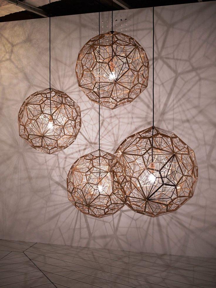 Etch Web Steel hanglamp | Tom Dixon
