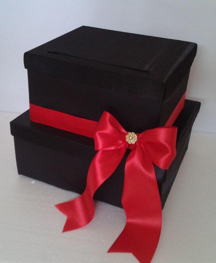 ca_104. Caja Negra Roja #bodas