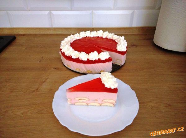 Letní rychlý osvěžující dortík hotový za 15min!