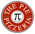 This is the PIE logo. It is the best pizza place in the world. I love it so much! They had the biggest pizzas you can order.