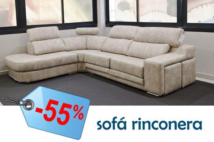 Sof rinconera modelo adriana con dise o atractivo y for Sofas buenos y comodos