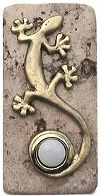 lizard doorbell button | Funky Gecko Doorbell Button and Fence Gate Hardware from 360 ...
