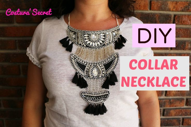DIY NECKLACE | Collar Boho Urban Outfitters