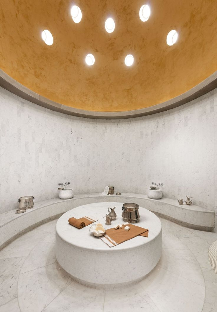 Turkish Bath and Joy at Rixos Eskisehir #gokhanavcioglu #gadarchitecture #gadfoundation