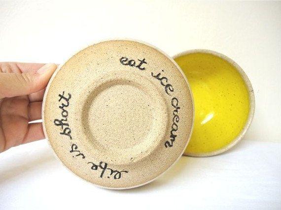 Ensemble de deux bol de petites poteries bols à par jclayPottery