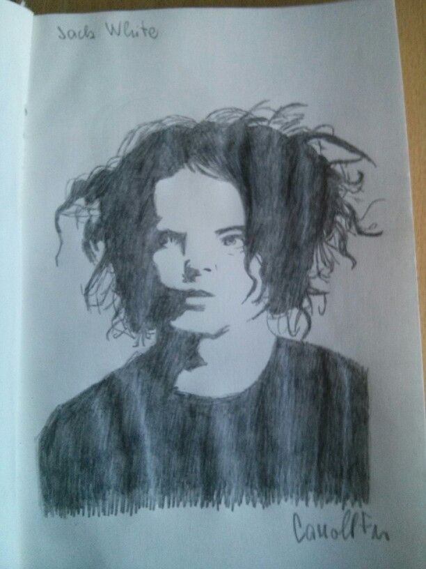 My fanart of Jack White