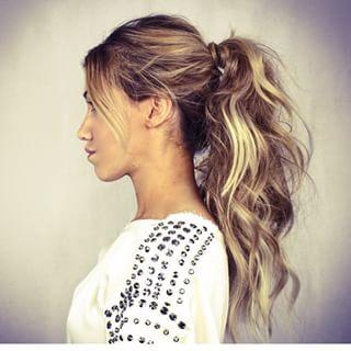 Homecoming hair