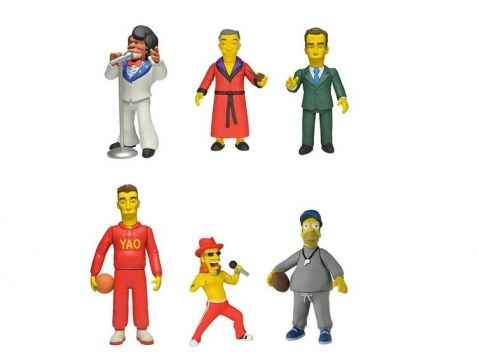 The Simpsons - Největší hvězdy, figurky