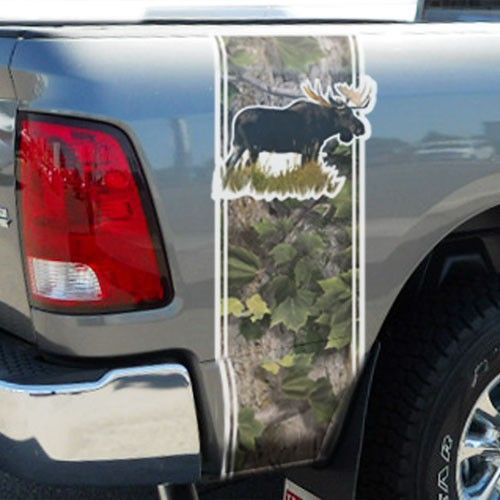 Best Hunting Decals For Trucks Images On Pinterest Vinyl - Camo custom vinyl decals for trucks
