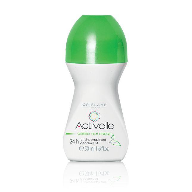 Desodorante Roll-On Antitranspirante Activelle Té Verde #oriflame