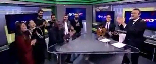 NTV Spor'dan Demba Ba şarkısı