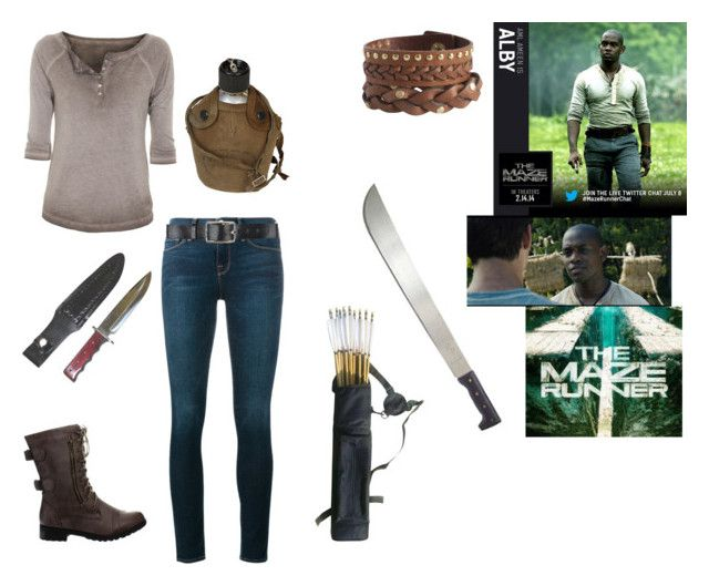 The Maze Runner: Alby by gracenerada on Polyvore featuring polyvore fashion style True Religion Frame Beston Pieces Belstaff clothing