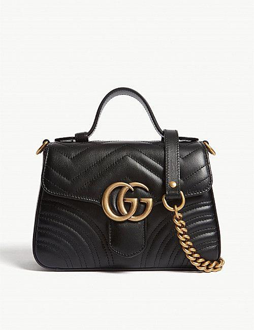 3c771ca96da008 GUCCI Mini Marmont shoulder bag in 2019 | Wardrobe Goals | Gucci ...