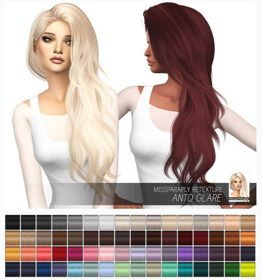 Miss Paraply: Anto Glare: Solids • Sims 4 Downloads